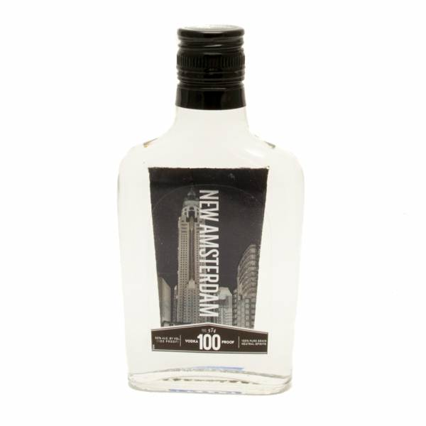 New Amsterdam 100 Proof Vodka 200ml Beer Wine And