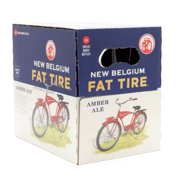 New Belgium - Fat Tire Ambr Ale - 12oz Bottles - 12 pack