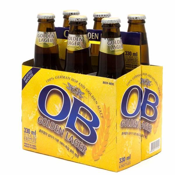 OB - Golden Lager Beer - 11.2oz Bottle - 6 Pack