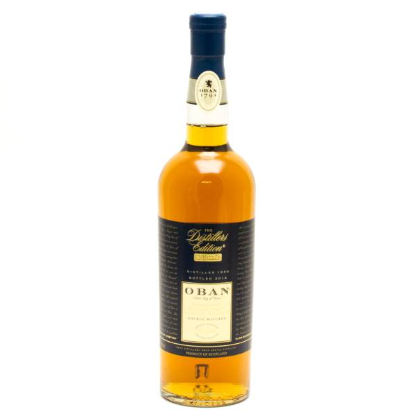 Oban - Distillers Edition - Double Matured - Highland Single Malt Scotch Whisky - 750ml