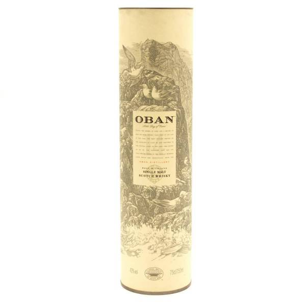 Oban - Single Malt Scotch Whisky - 750ml