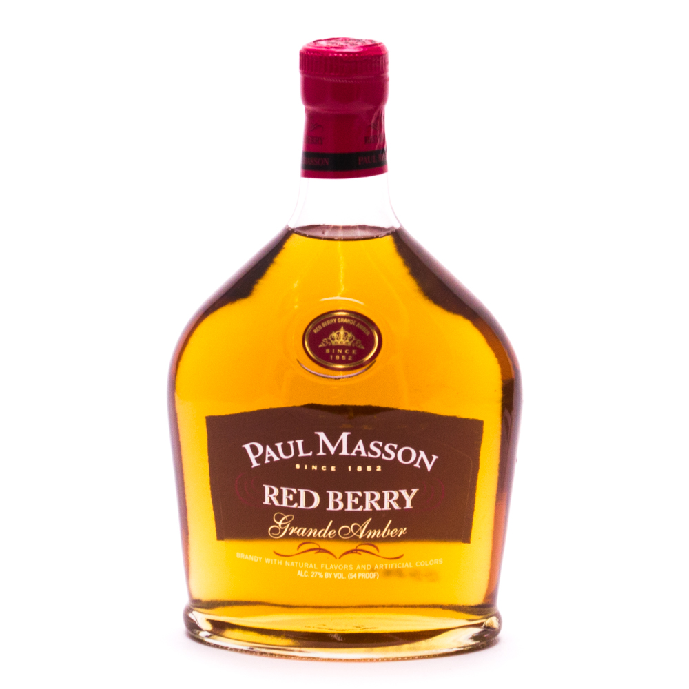 Paul Masson - Red Berry - Grand Amber Brandy - 750ml