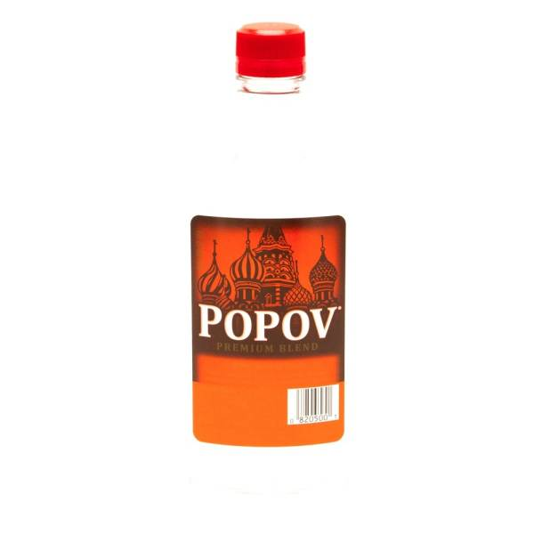 Popov - Vodka Red - 375ml