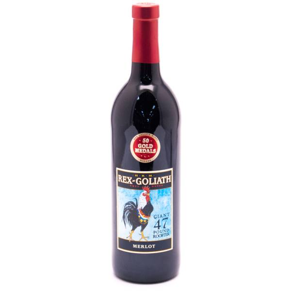 Rex Goliath - Giant 47 Pount Rooster - Merlot - 750ml