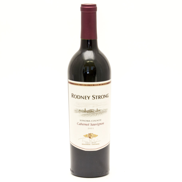 Rodney Strong - Cabernet Sauvignon - Sonoma County 2011 - 750ml