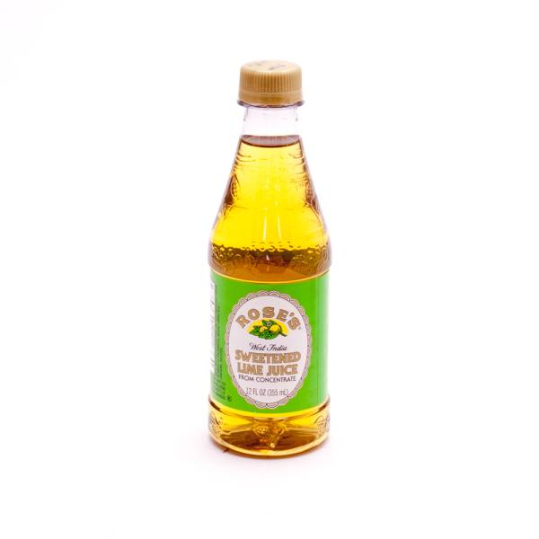 Rose's - West India Sweetened Lime Juice - 355ml