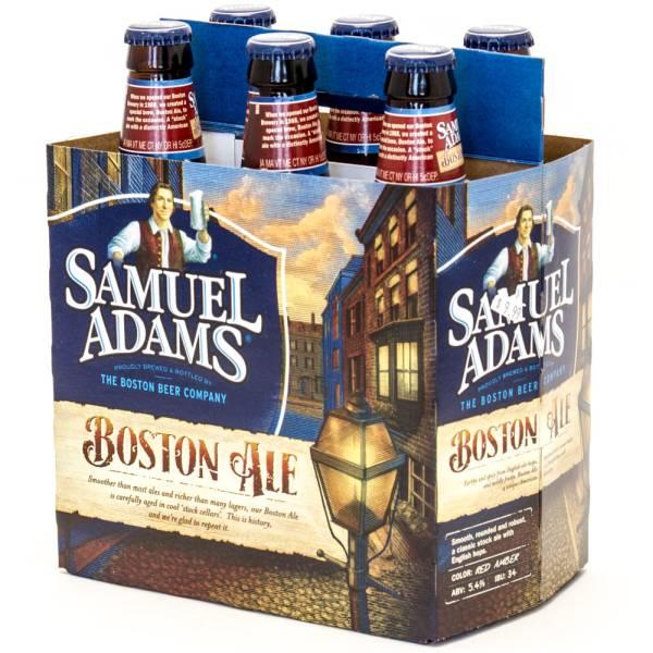Samuel Adams - Boston Ale - 12oz Bottle - 6 Pack