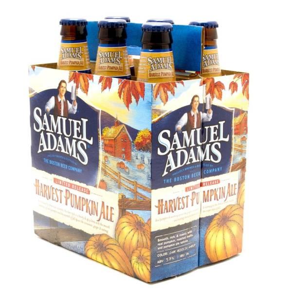 Samuel Adams - Harvest Pumpkin Ale - 12oz Bottle - 6 Pack