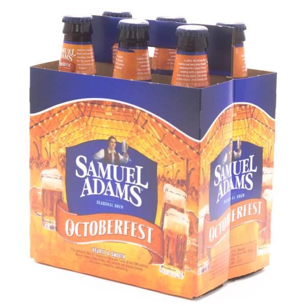 Samuel Adams - Octoberfest - 12oz Bottle - 6 Pack