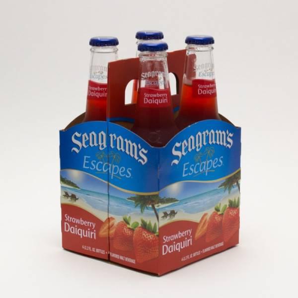 Seagram's - Escapes - Strawberry Daiquiri - 11.2oz Bottle - 4 Pack
