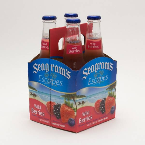 Seagram's - Escapes - Wild Berries - 11.2oz Bottle - 4 Pack