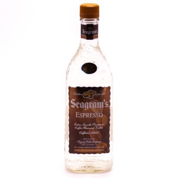 Seagram's - Expresso Vodka (Caffeine Added) - 750ml