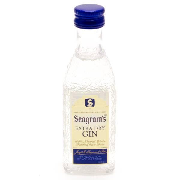 Seagram's - Extra Dry Gin - Mini 50ml