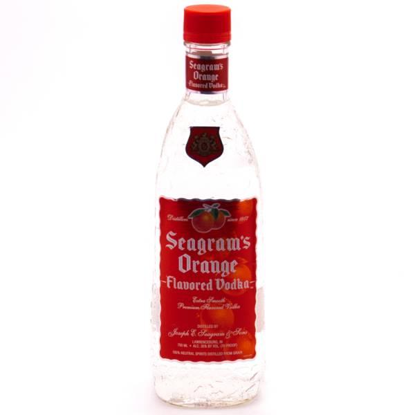 Seagram's - Orange Vodka - 750ml