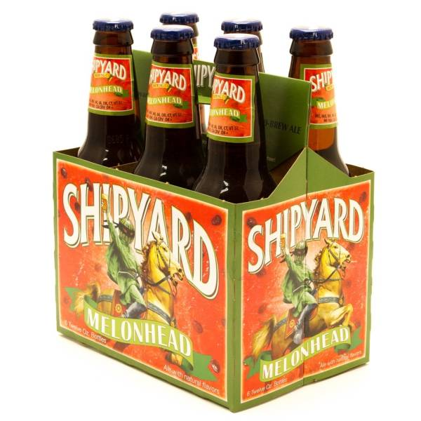 Shipyard Melon Head Ale 12oz Bottle 6 Pack Beer