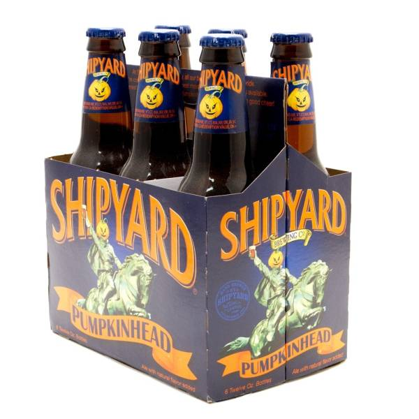 Shipyard - Pumpkin Head - 12oz Bottle - 6 Pack