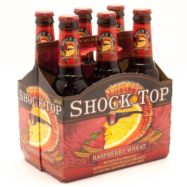 Shock Top - Raspberry Wheat - 12oz Bottle - 6 pack