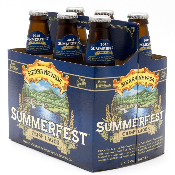 Sierra Nevada - Summerfest Crisp Lager - 12oz Bottle - 6 Pack
