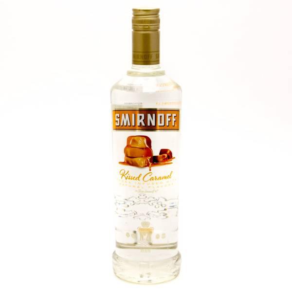 Smirnoff - Kissed Caramel Vodka - 750ml