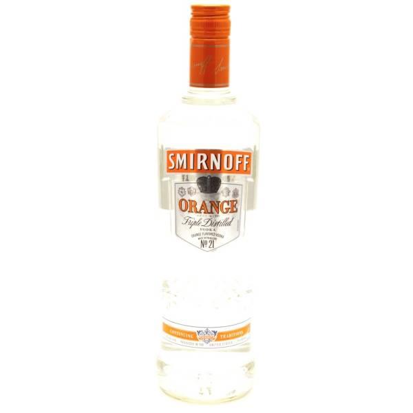 Smirnoff - Orange Vodka - 750ml