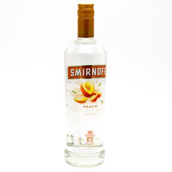 Smirnoff - Peach Vodka - 750ml