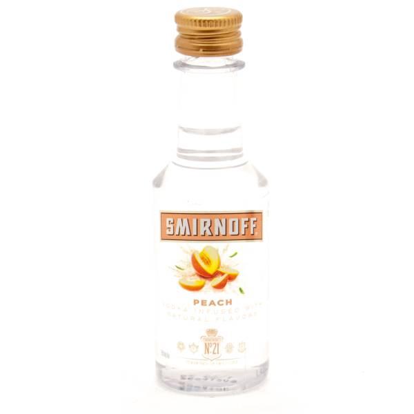 Smirnoff - Peach Vodka - Mini 50ml