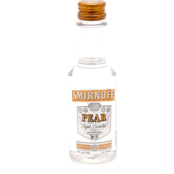 Smirnoff - Pear Vodka - Mini 50ml