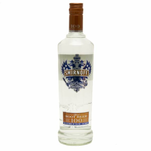 Smirnoff - Root Beer 100 Proof -  Vodka -750ml