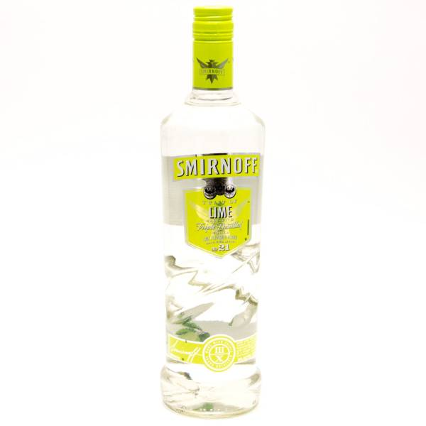 Smirnoff - Twist of Lime Vodka - 750ml