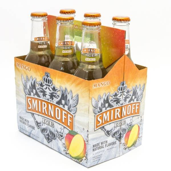 Smirnoff Ice - Mango - 11.2oz Bottle - 6 Pack