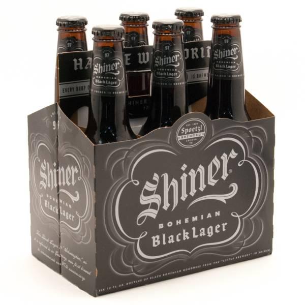 Spoetzl - Shiner - Bohemian Black Lager - 12oz Bottles - 6 pack