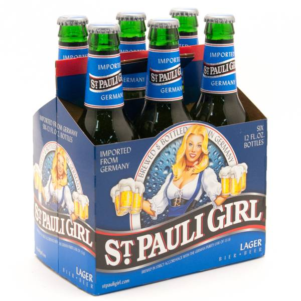 St. Paul Girl - Lager Imported from Germany - 12oz Bottle -6 Pack