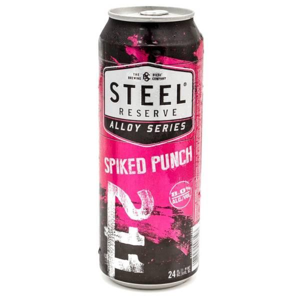 Steel Reserve - Spiked Punch Malt Beverage - 24oz Can