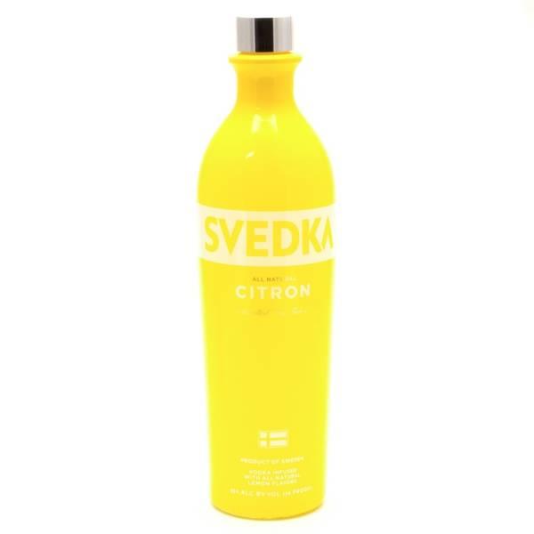 Svedka - Citron Vodka - 750ml