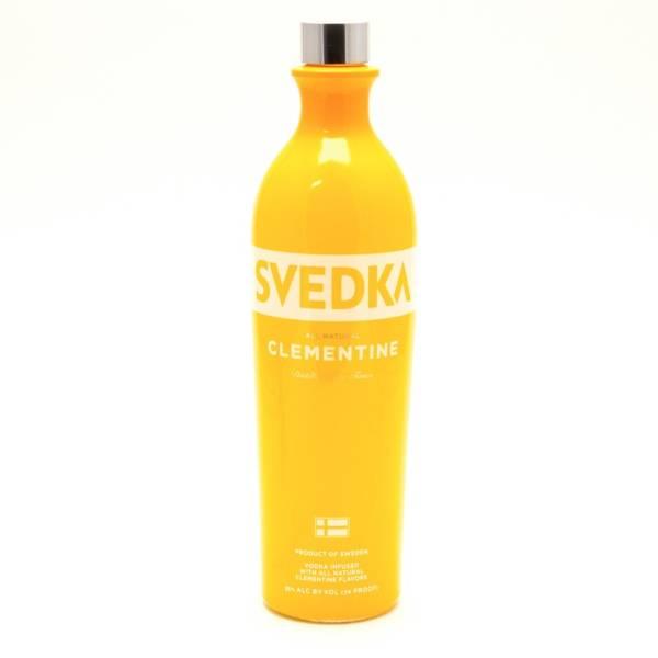 Svedka - Clementine Vodka - 750ml