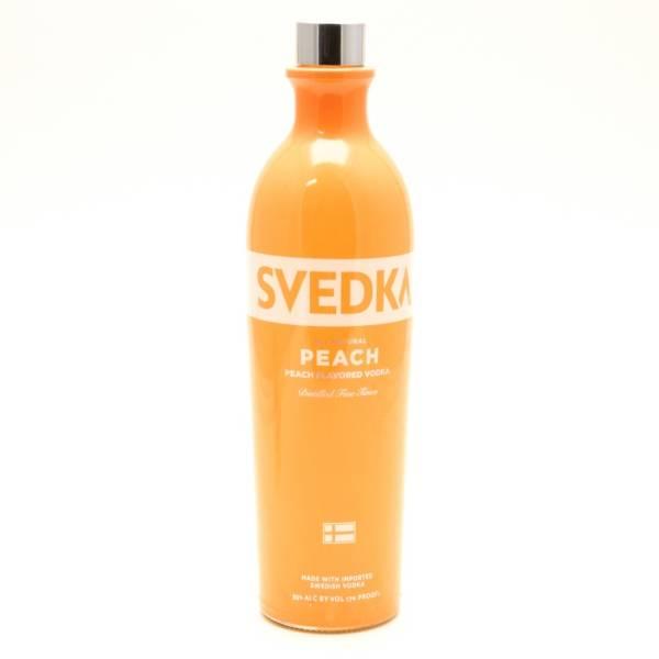 Svedka - Peach Vodka - 750ml