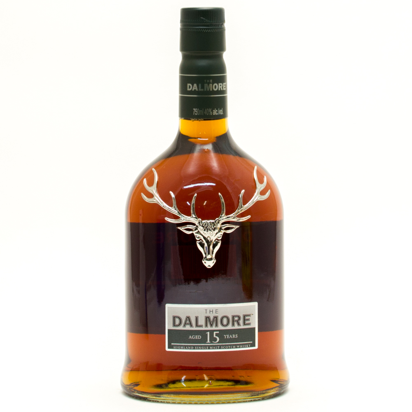 The Dalmore - Aged 15 Yearrs - Highland Single Malt Scotch Whiskey - 750ml