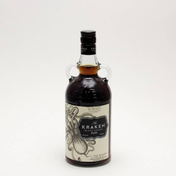 The Kraken - Black Spiced Rum - 750ml