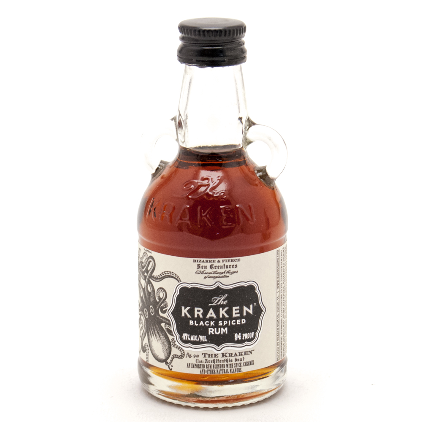 The Kraken - Black Spiced Rum - Mini 50ml