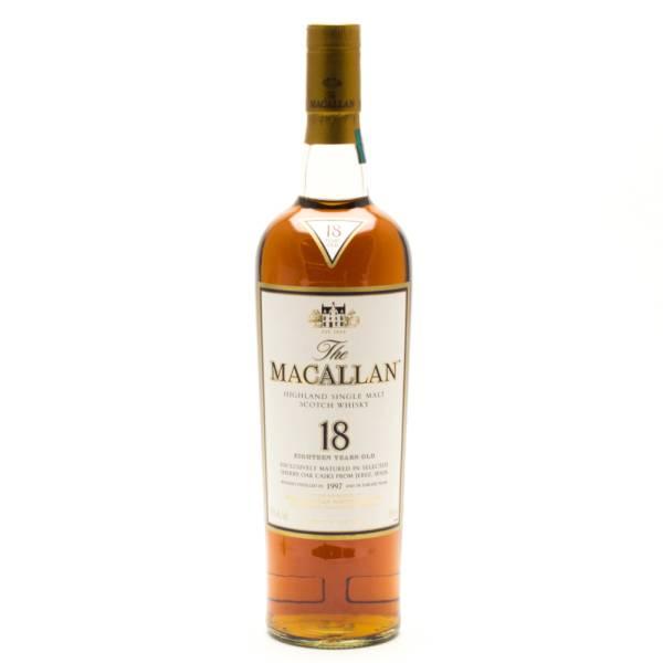The Macallan - 18 Years Old - Highland Single Malt Scotch Whisky - 750ml