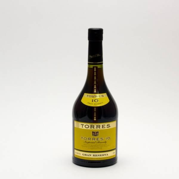 Torres - 10 Gran Reserva Imperical Brandy - 750ml