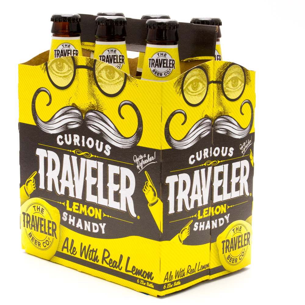 Traveler - Lemon Shandy - 12oz Bottle - 6 Pack