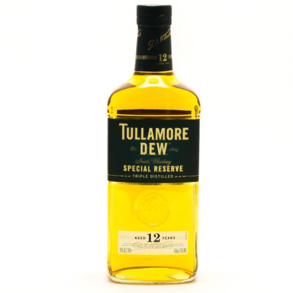 Tullamore Dew - Aged 12 Years - Special Reserve Irish Whiskey - 750ml