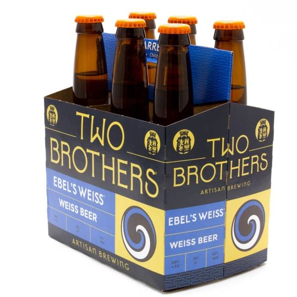 Two Brothers - Ebel's Weiss Beer - 12oz Bottles - 6 pack