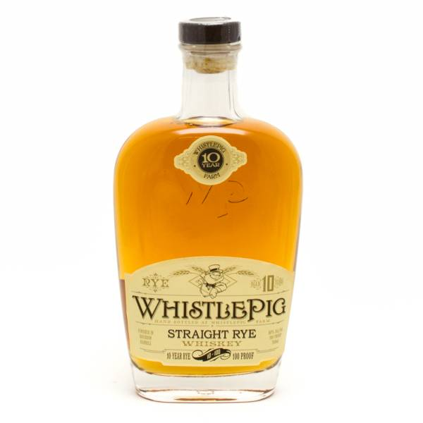 Whistle Pig - Stright Rye Whiskey - 100 Proof - 750ml