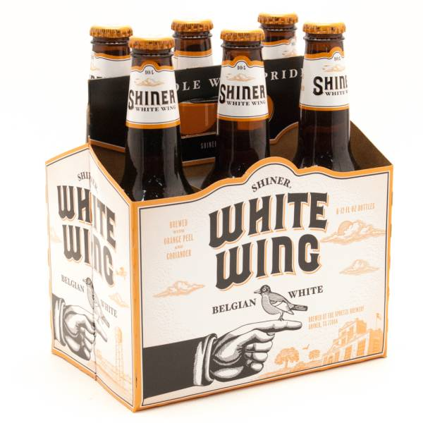 White Wing - Belgian White - 12oz Bottles - 6 pack