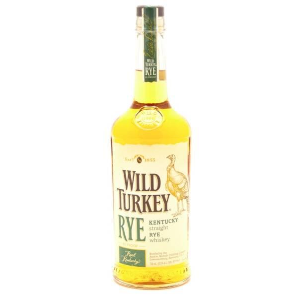 Wild Turkey - Kentucky Straight Rye Whiskey - 750ml