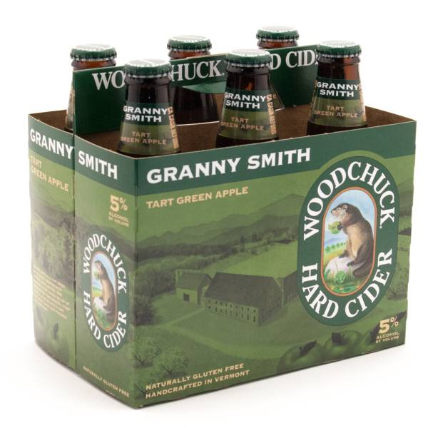 Woodchuck - Granny Smith Tart Green Apple Cider - 6 Pack