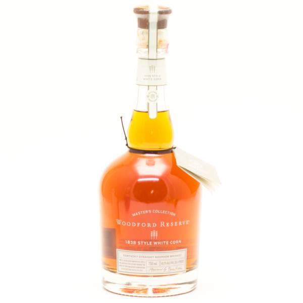 Woodrord Reserve - 1838 Style White Corn - Kentucky Straight Bourbon Whiskey - 750ml