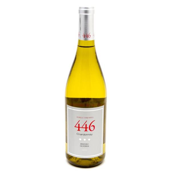 446 - Chardonay - Monterey California - 2010 - 750ml